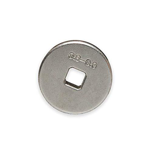TELWIN Drahtvorschubrolle für Telwin Bimax 140 MIG MAG Schweißgerät, Typ:Stahl/Fülldraht 0.6/0.9 mm