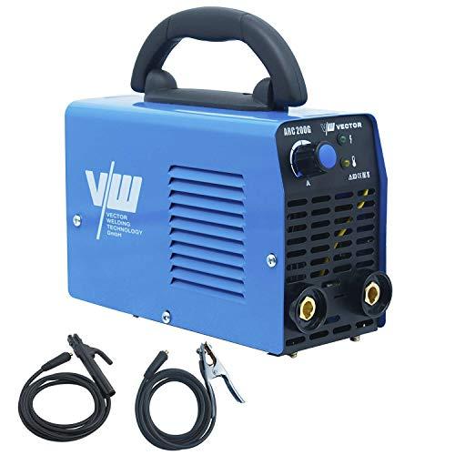 Elektroden Schweißgerät - Schweißgerät Elektrode - Inverter Schweissgerät - Elektroden Inverter - ARC Welder - Einsteigergerät - Elektro schweißgerät | 200A - IGBT - ARC200G von Vector Welding