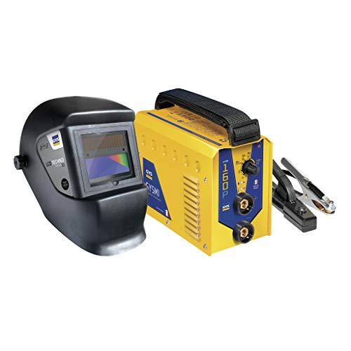 GYS Elektroden-Schweißinverter 160P mit Schweißhelm LCD Master 11 und Wechselrichter 160 A