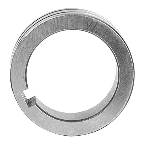 Gasgeschirmtes Schweißdraht-Maschinenschweißzubehör 30 mm Stahldraht-Vorschubrolle 0,8/1,0/1,2 Schweißdraht Vorschub Führungsrad(1.2mm)
