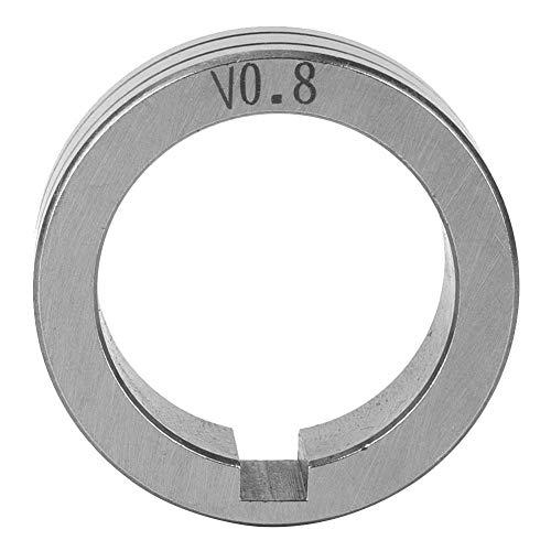 Gasgeschirmtes Schweißdraht-Maschinenschweißzubehör 30 mm Stahldraht-Vorschubrolle 0,8/1,0/1,2 Schweißdraht Vorschub Führungsrad(0.8mm)