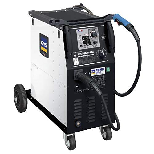 GYS MIG/MAG Schweißgerät, 30-200 A, Dreiphasig 400 V, gelb, Trimig 200-4S