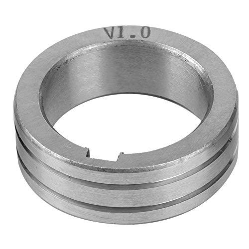Gasgeschirmtes Schweißdraht-Maschinenschweißzubehör 30 mm Stahldraht-Vorschubrolle 0,8/1,0/1,2 Schweißdraht Vorschub Führungsrad(1.0mm)