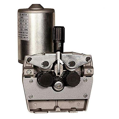 4-Rollen 24V DC Schweißgerät Vorschubmotor, 24V Feed Motor 4R Welding Wire Feed MAG Welder Schweißgerät Vorschubmotor